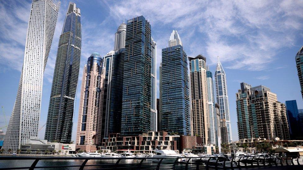 صورة لمرسى دبي
