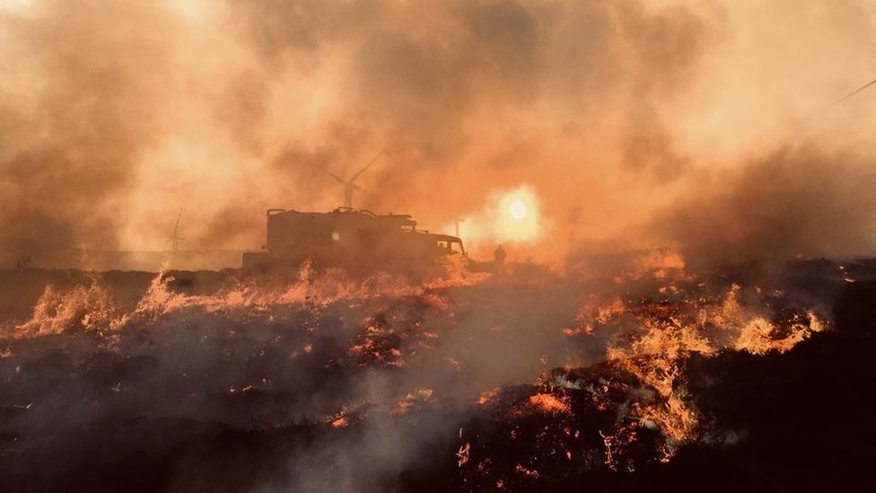 Major wildfire could be one of the largest for years