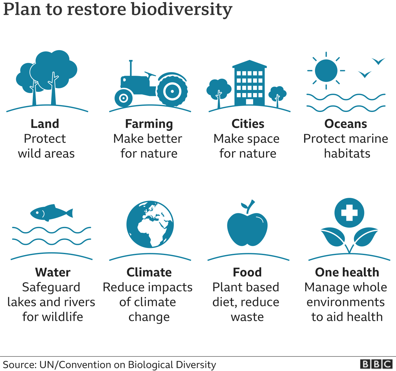 Plan to restore biodiversity