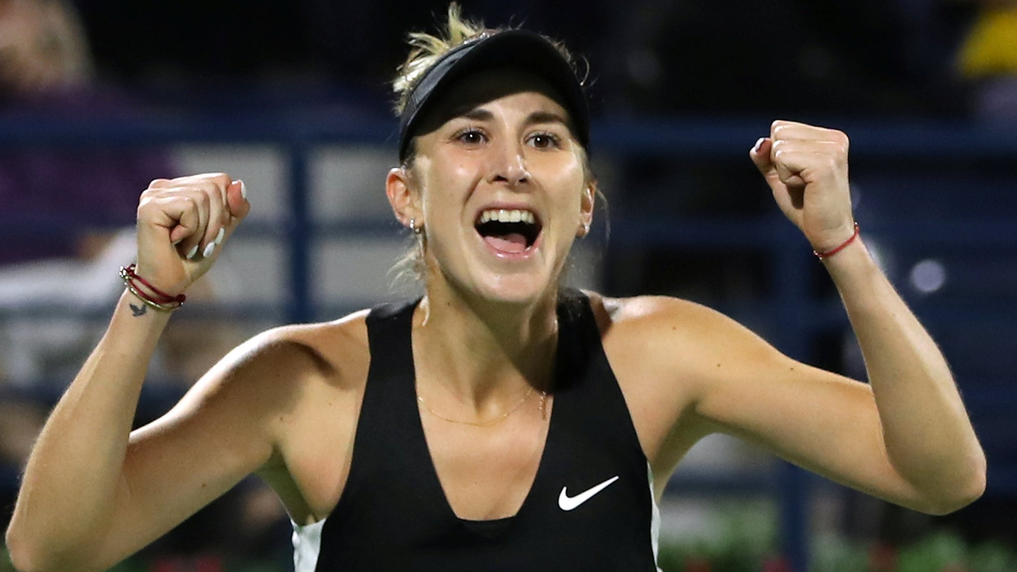 Dubai Tennis Championships: Belinda Bencic beats Petra Kvitova in final