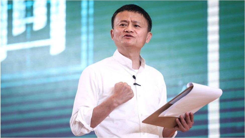 Jack Ma S Terrible Week Bbc News