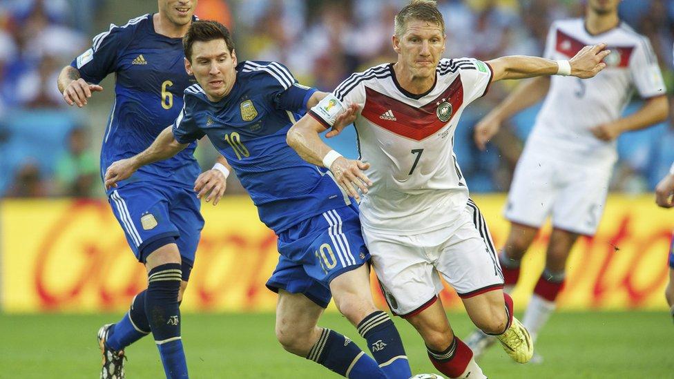 Final Alemania - Argentina