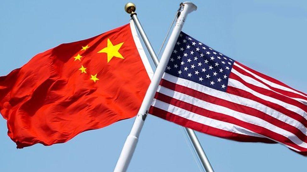 中國,美國