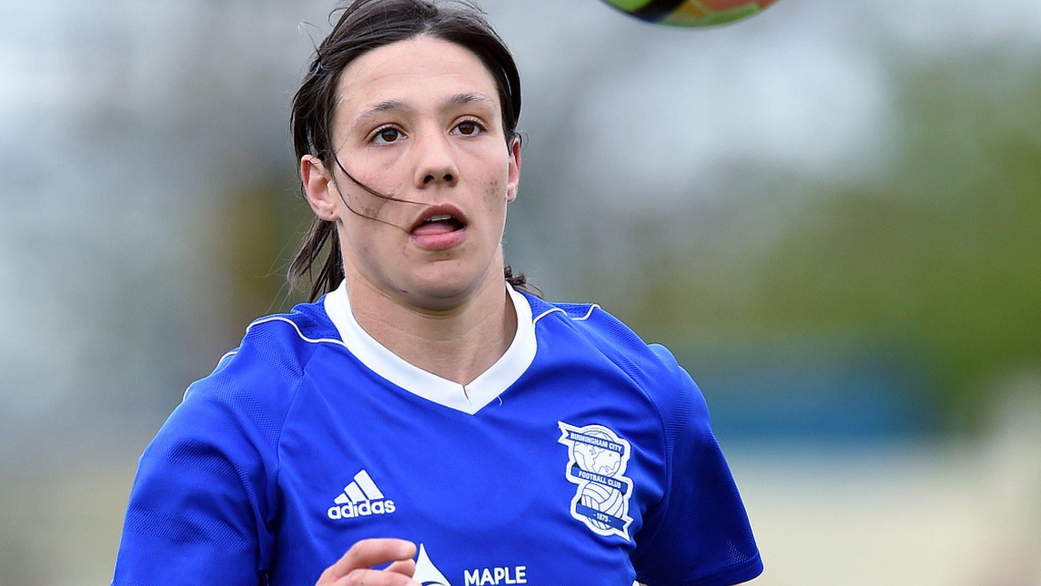 Rachel Williams: Birmingham City forward has knee surgery on ACL injury
