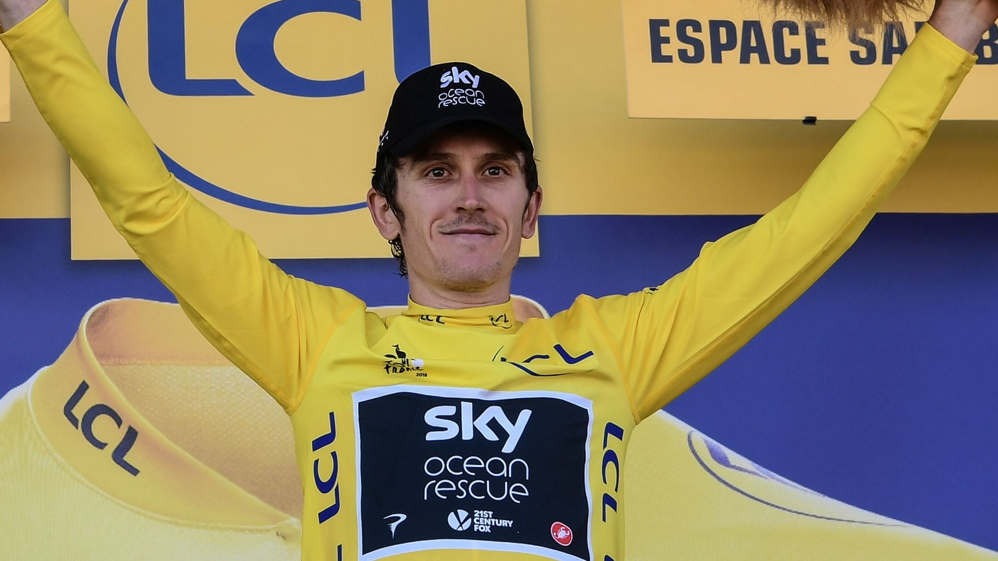 Team Sky's Thomas wins stage 11 to take Tour lead