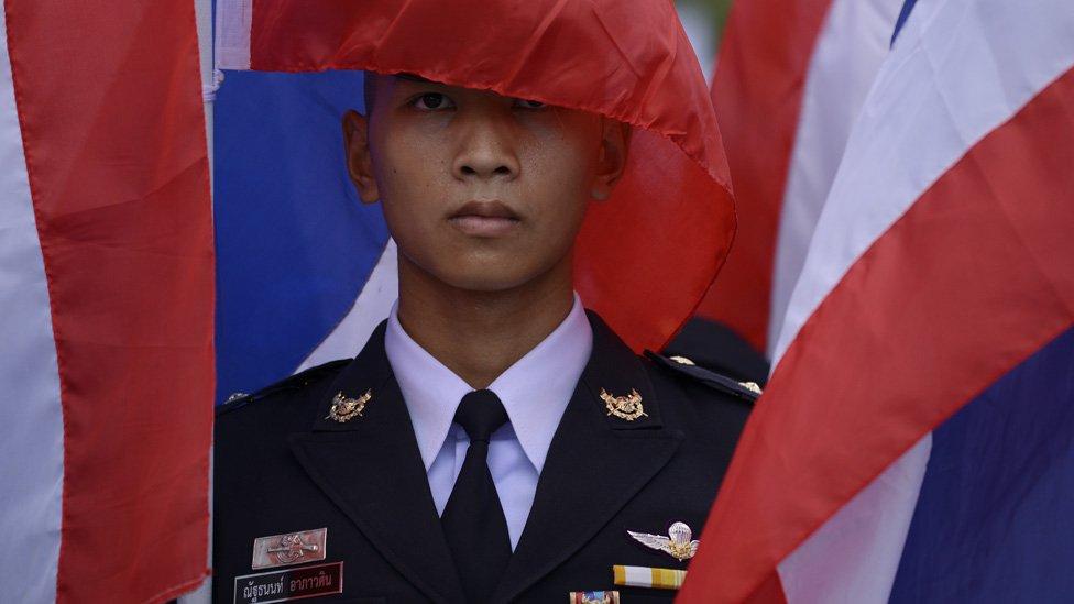 Tailandia está gobernada por militares desde un golpe de Estado en 2014.