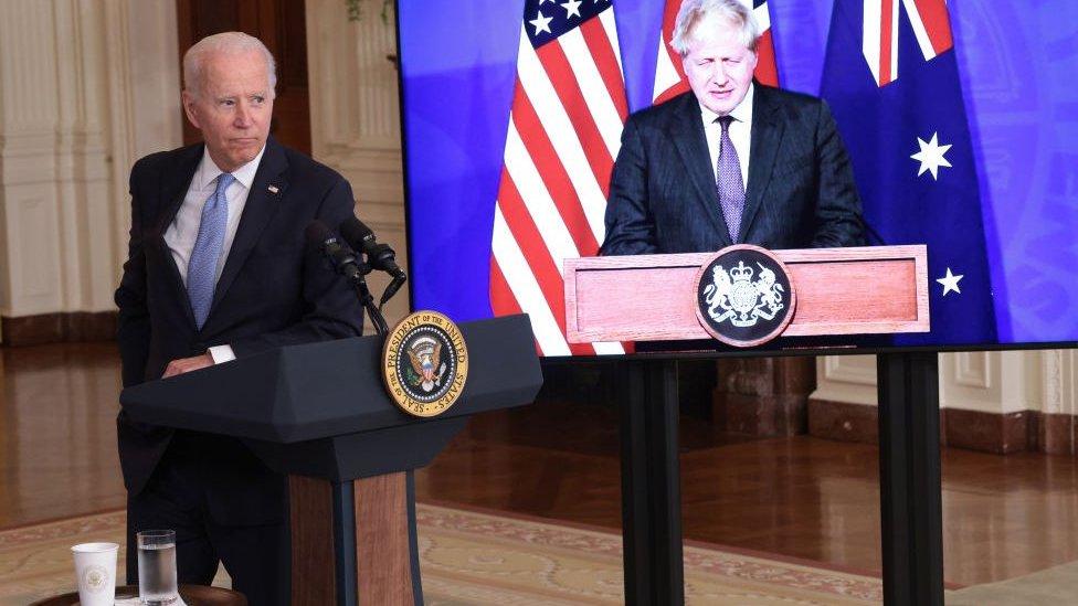 İngiltere, ABD ve Avustralya basın toplantısı