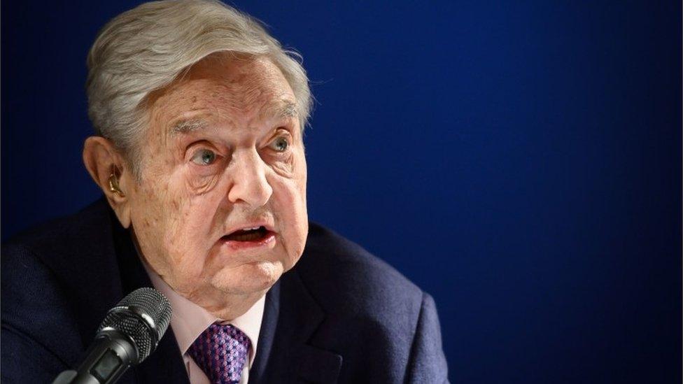 George Soros en Davos