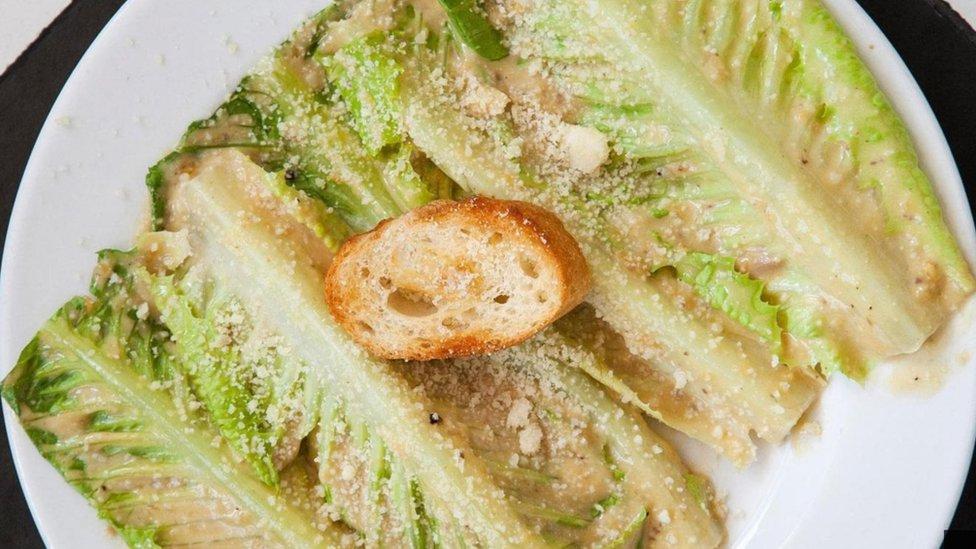 Una ensalada César