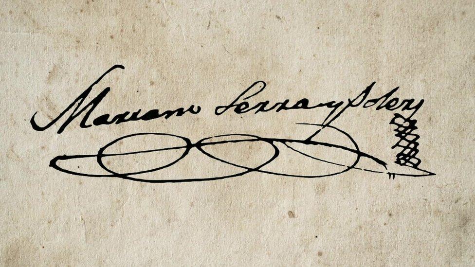Firma de Mariano Serra