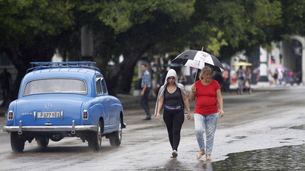 Michael Kasırgası Küba'yı da vurdu