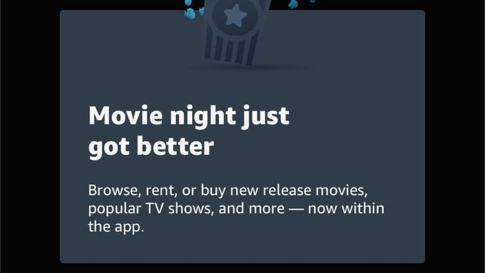 Amazon Prime Allows In App Purchases For Apple Users Bbc News