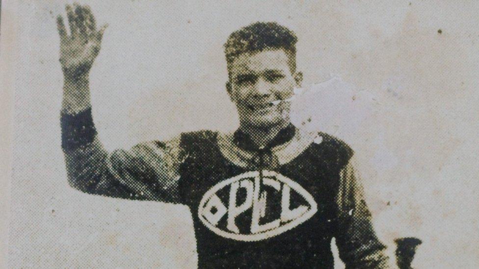Rubens Pinheiro durante su viaje