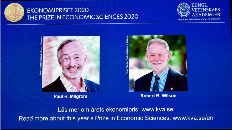 Game theorists Paul Milgrom and Robert Wilson won the 2020 economics prize