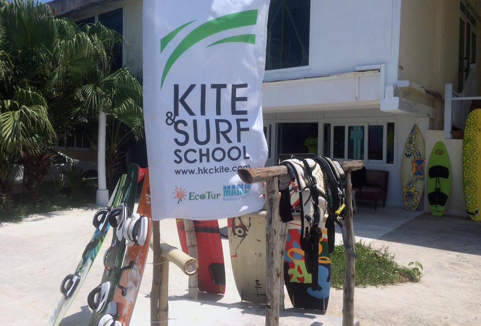 Kite and surf school