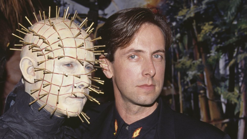 Picture of Pinhead with Clive Barker