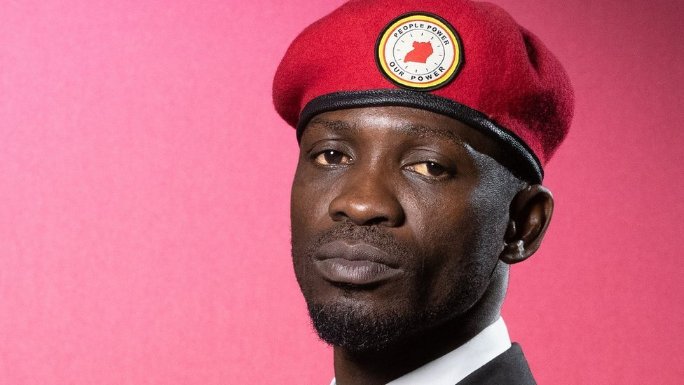 Bobi Wine pictured during a photo session in June 2019.