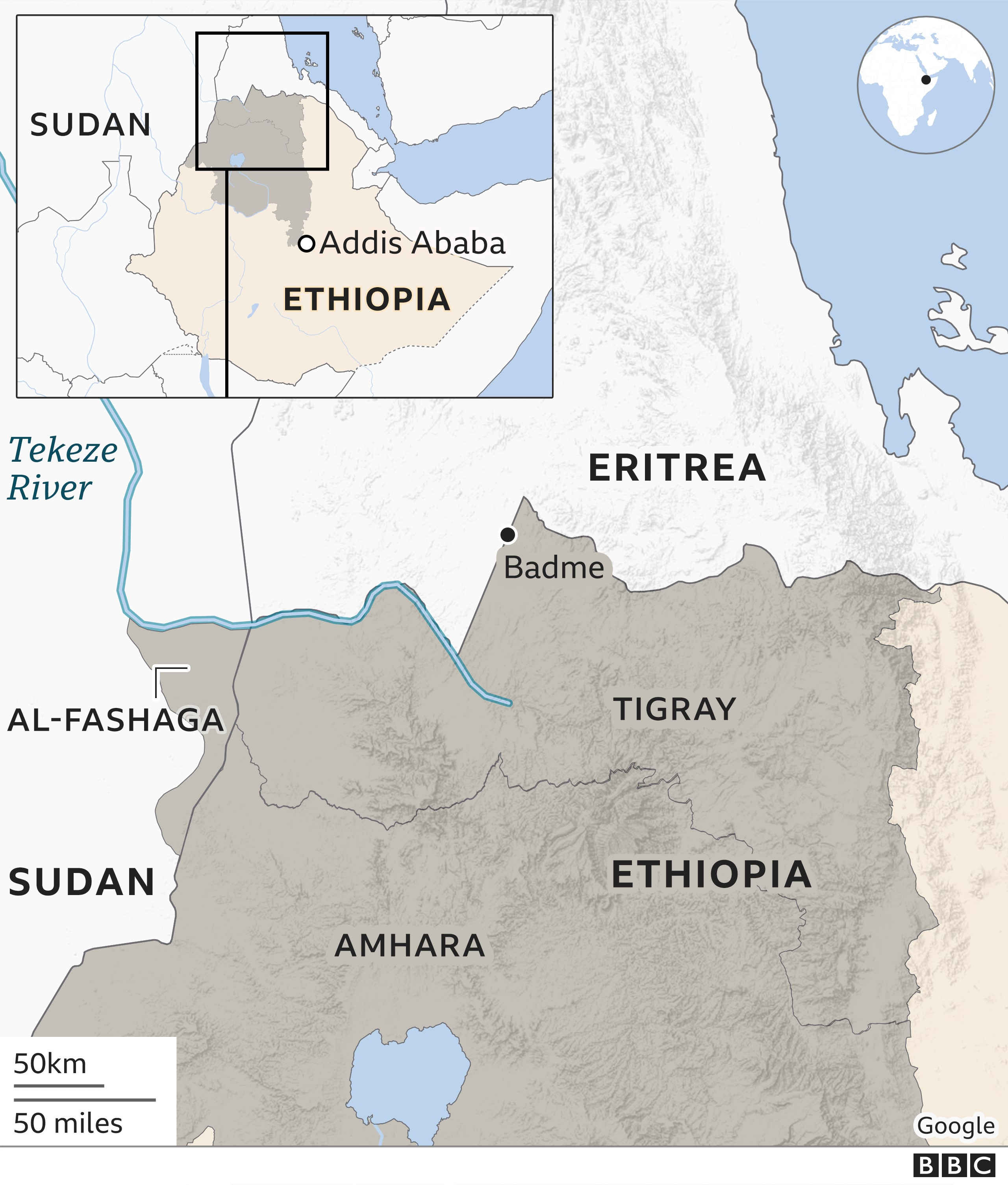 Viewpoint: Why Ethiopia and Sudan have fallen out over al-Fashaga thumbnail
