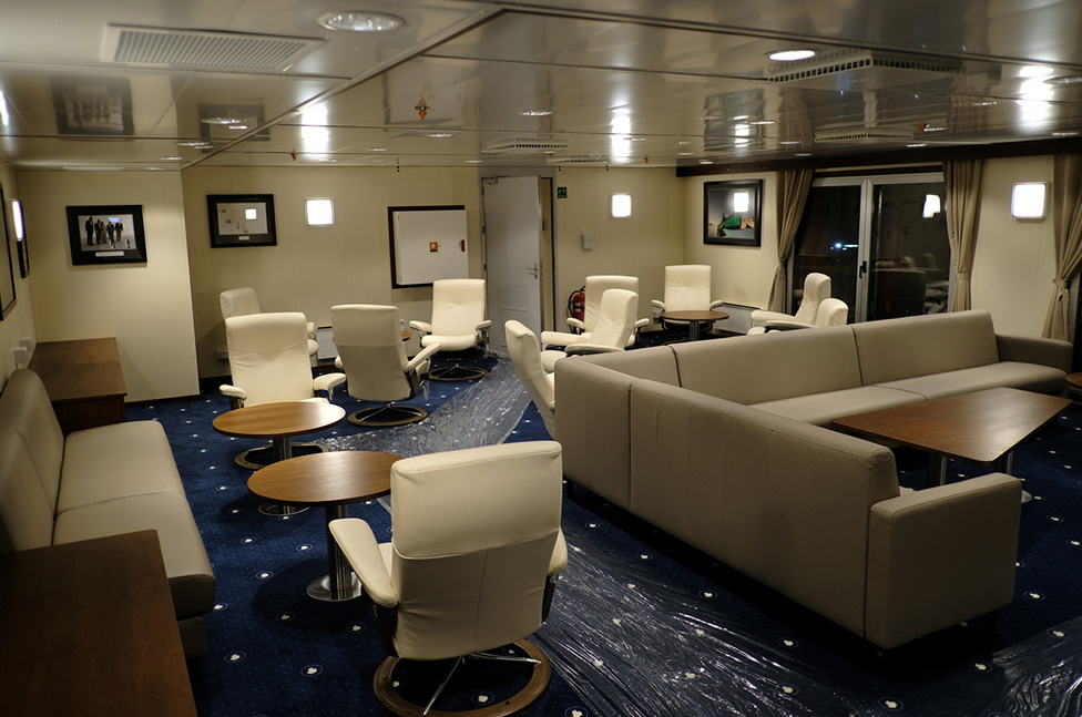 Lounge on RRS Sir David Attenborough