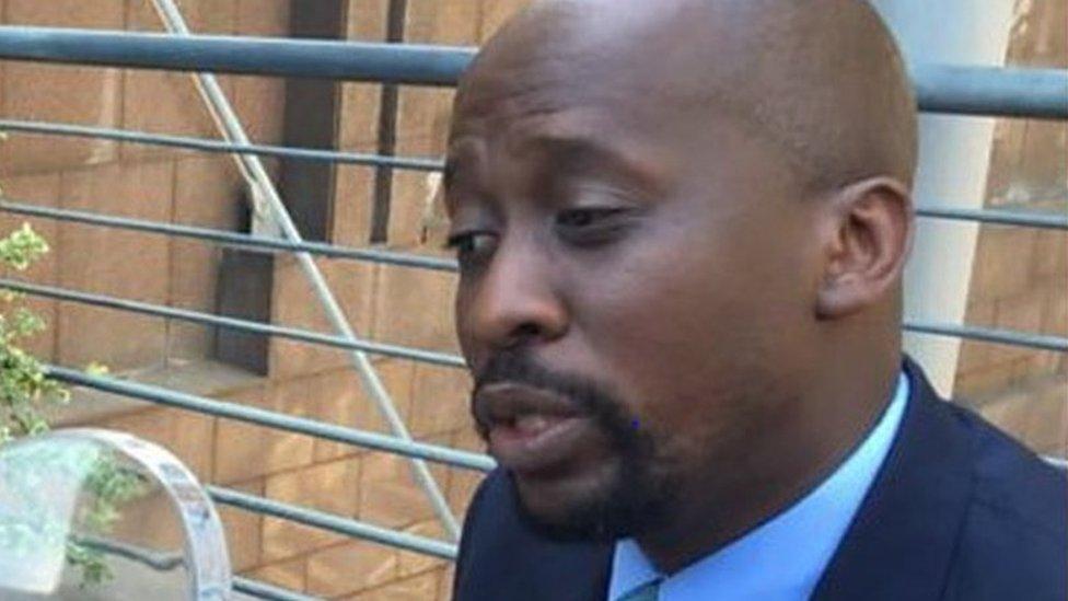 Zanu-PF MP Terence Mukupe