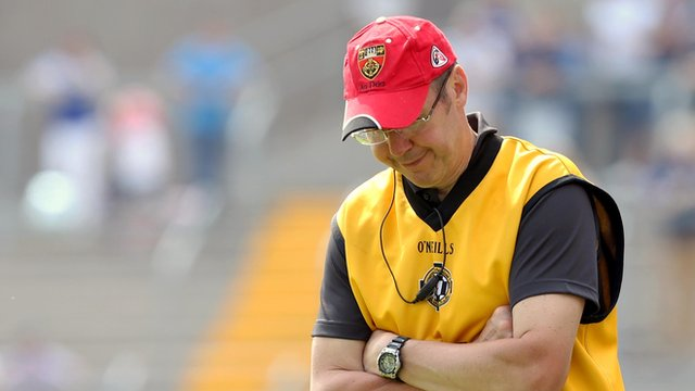 Down manager Eamon Burns