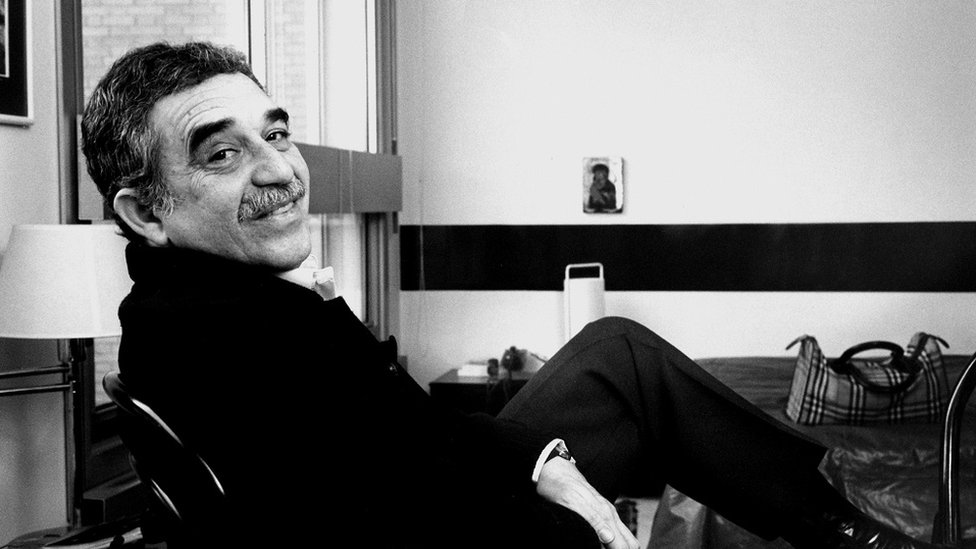 El escritor colombiano Gabriel García Márquez