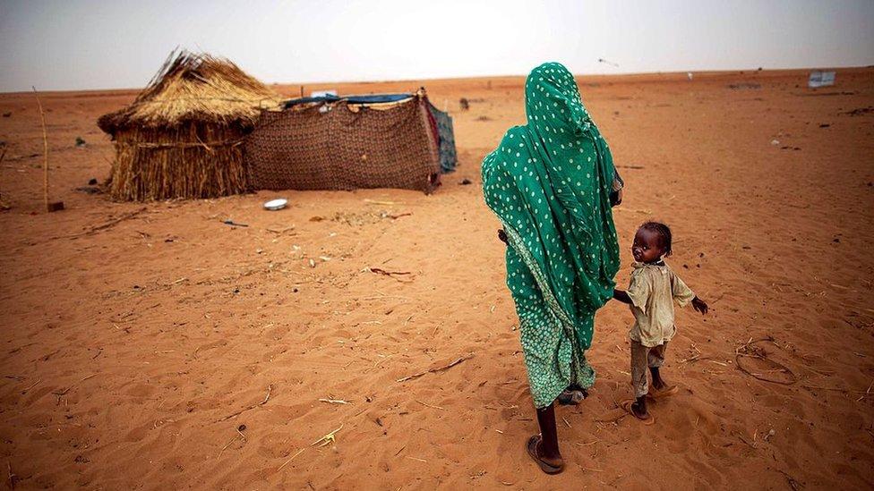 Perempuan Sudan.