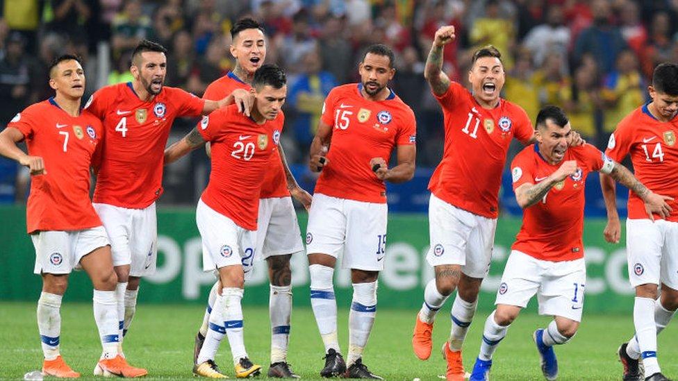 Equipo chileno de fútbol en 2019.
