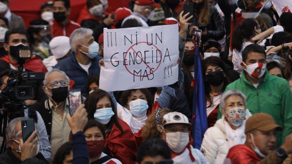 Marcha en Lima