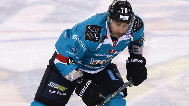 James Desmarais was on target for Belfast Giants against Coventry Blaze