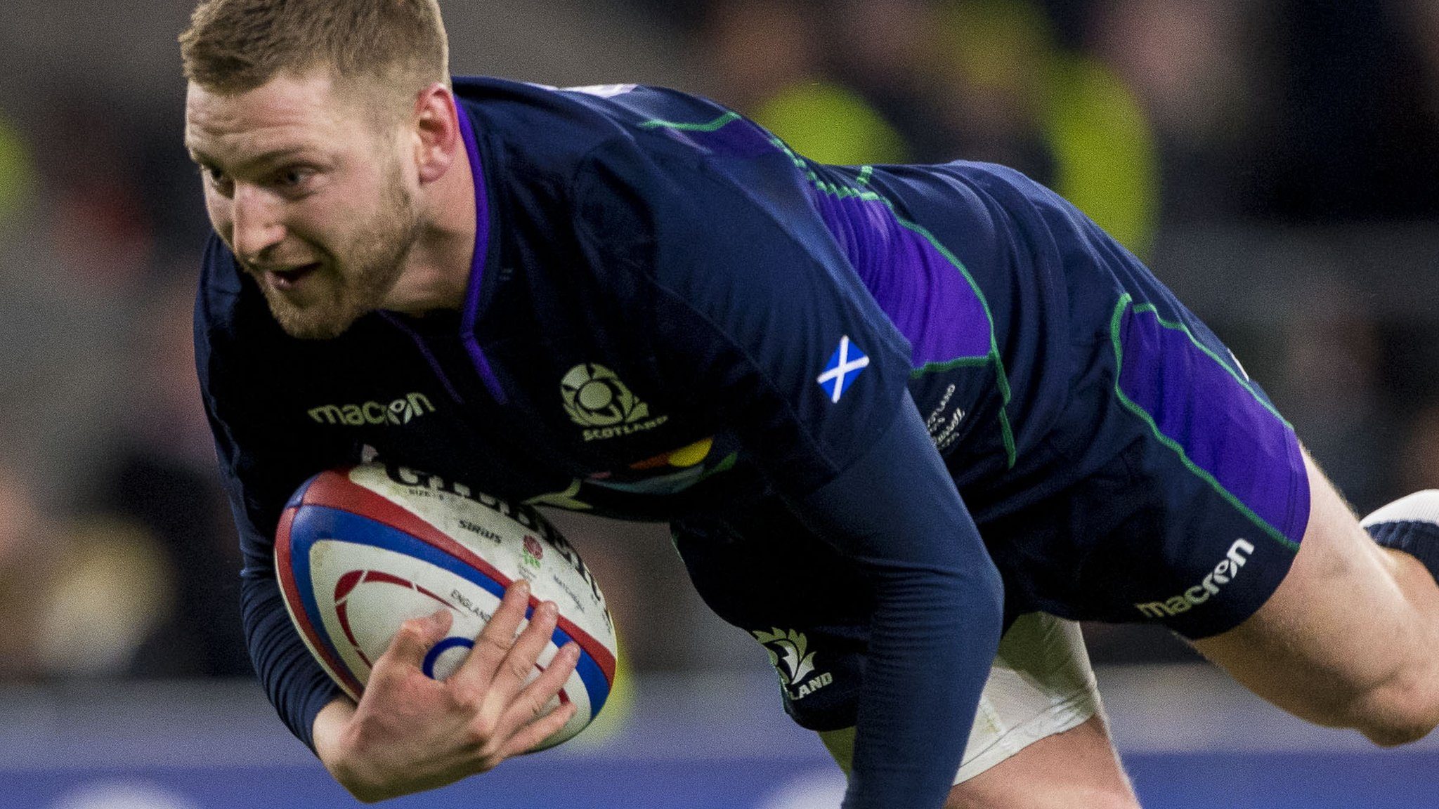 Finn Russell: Scotland fly-half played England with cheek fracture
