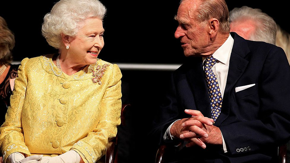 Príncipe Felipe, duque de Edimburgo, y la reina Isabel II