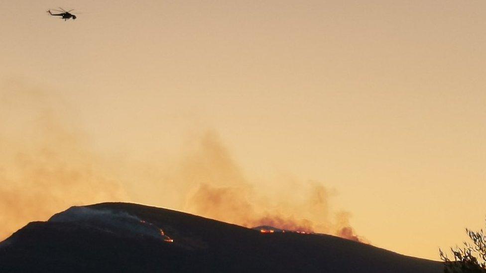 požar na Zakintosu