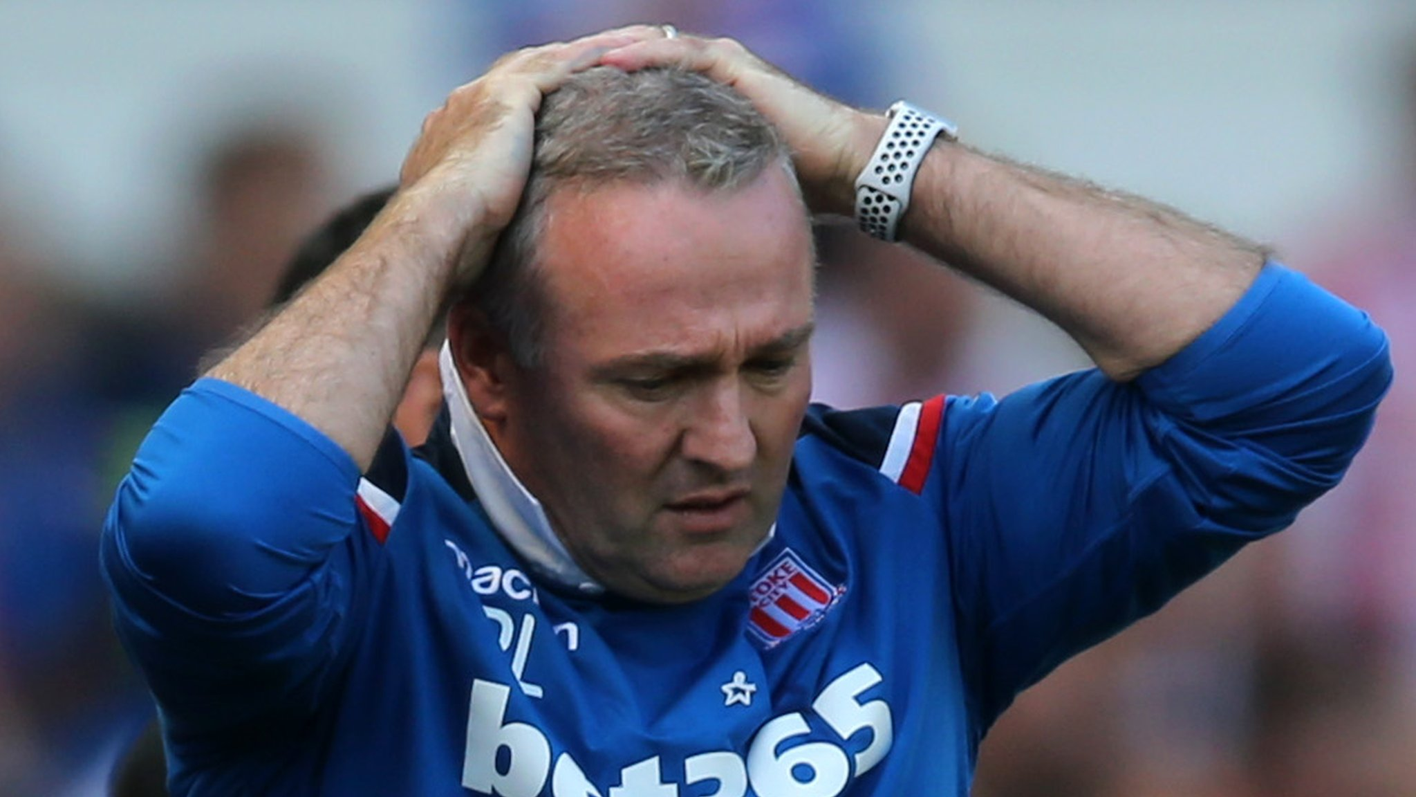 Paul Lambert: Stoke City manager leaves club after relegation