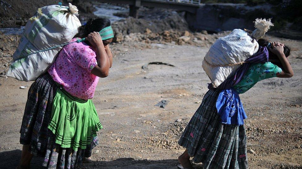 Indígenas guatemaltecas