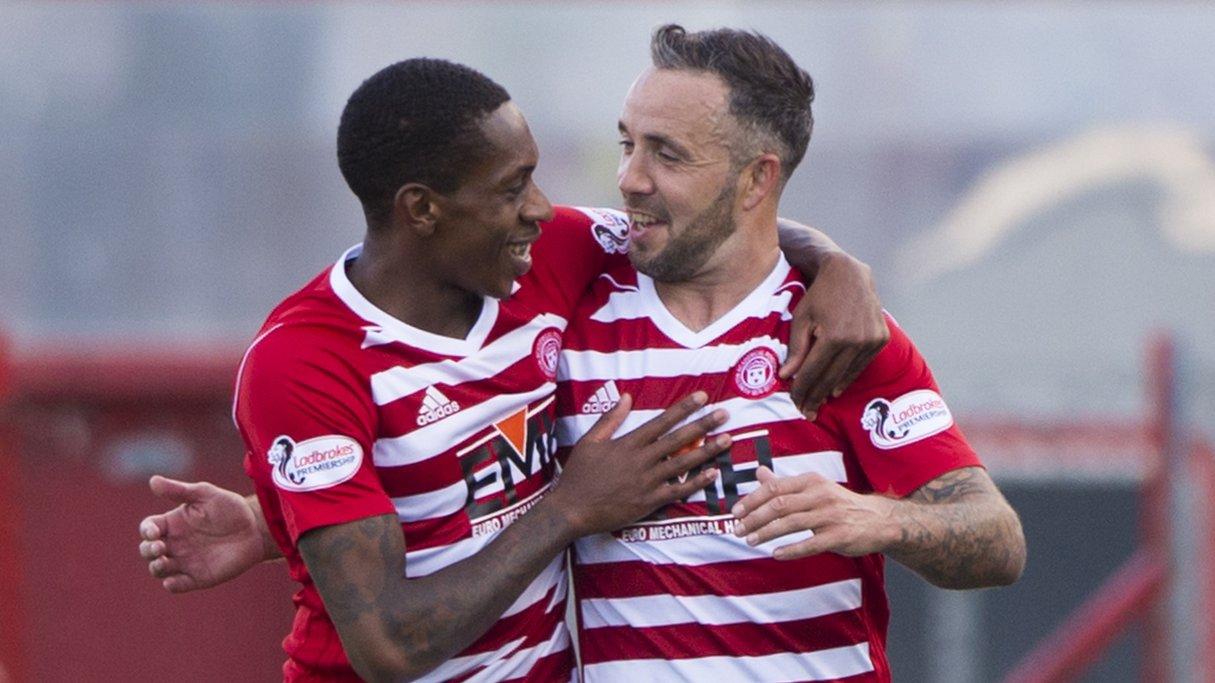 Hamilton Academical 3-0 St Mirren: Canning's men blitz blunt Buddies