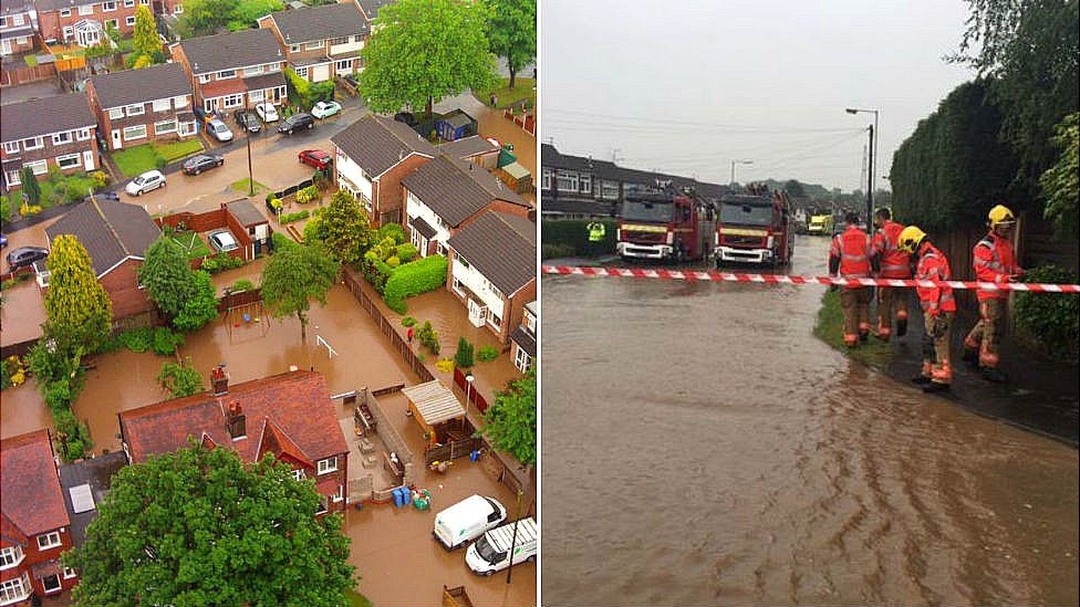Floods in Greater Manchester