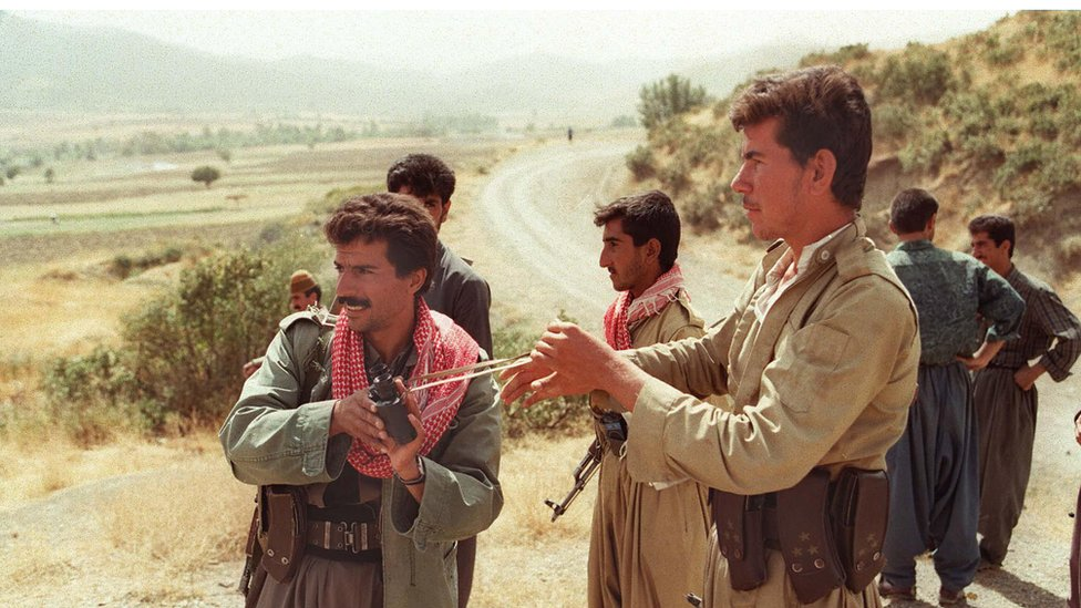 Iraqi Kurdish fighters
