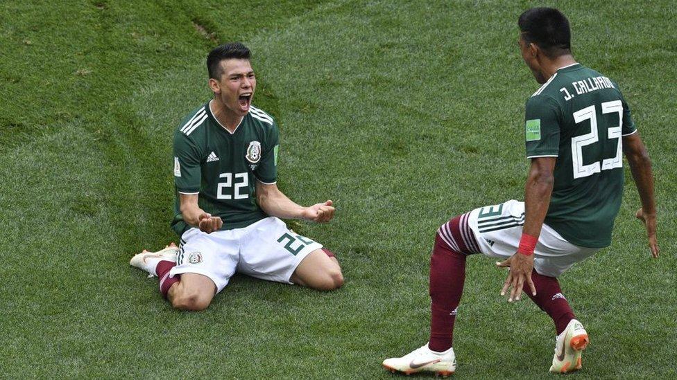 México tuvo muchas oportunidades de marcar, pero un gol fue suficiente para derrotar a Alemania.
