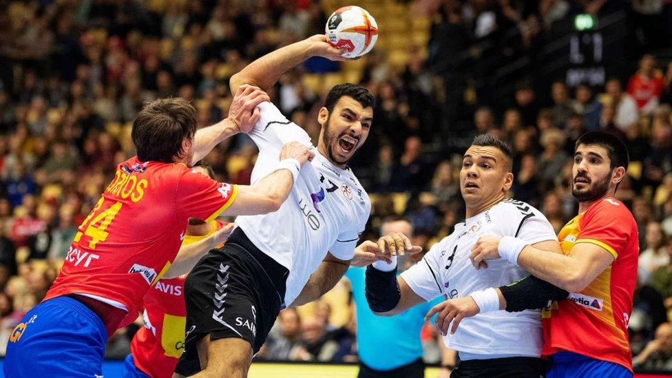 منتخب مصر لكرة اليد للناشئين في مقدونيا