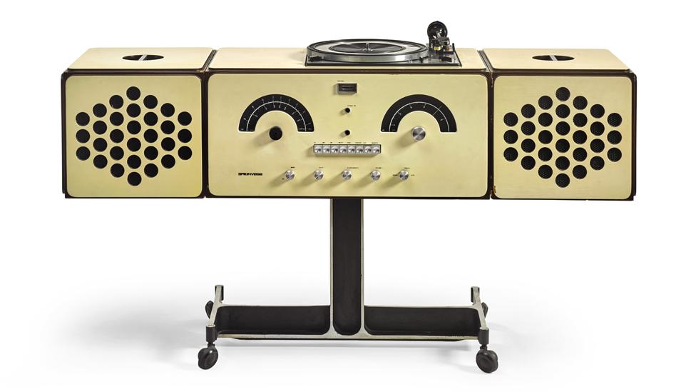 Stereo cabinet created by Achille and Pier Giacomo Castiglioni