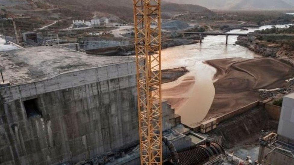 عندما ينتهي العمل في بناء سد النهضة سيكون الأكبر في افريقيا