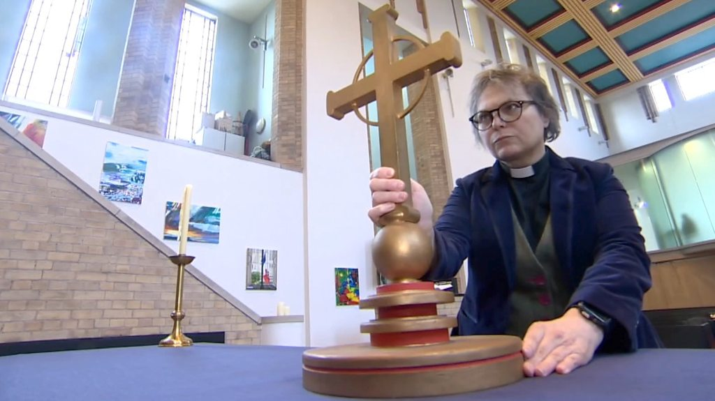 Manchester transgender vicar leads church diversity push