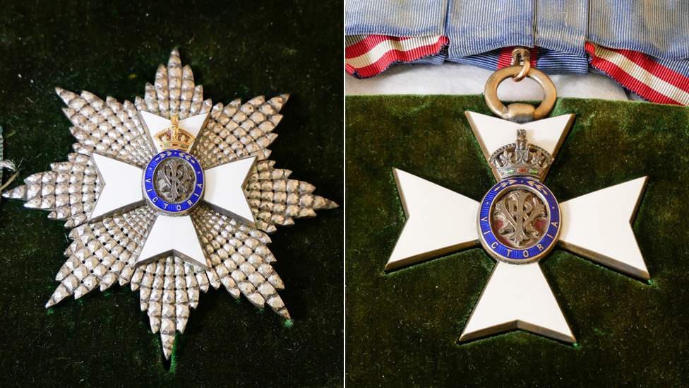 Breast Star and Grand Cross with sash