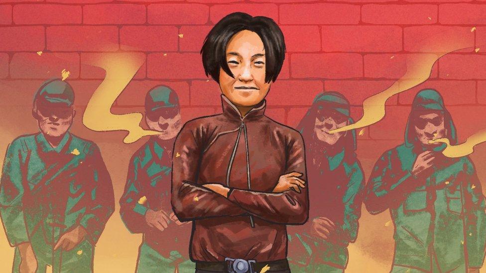 Una ilustración de Cheng Benhua.