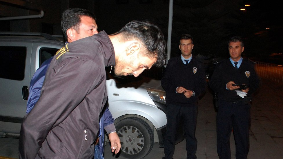 Suspect Ahmad Dahmani arrested in Antalya