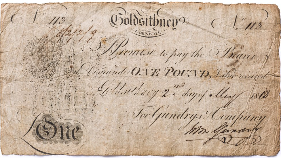 Cornish banknote