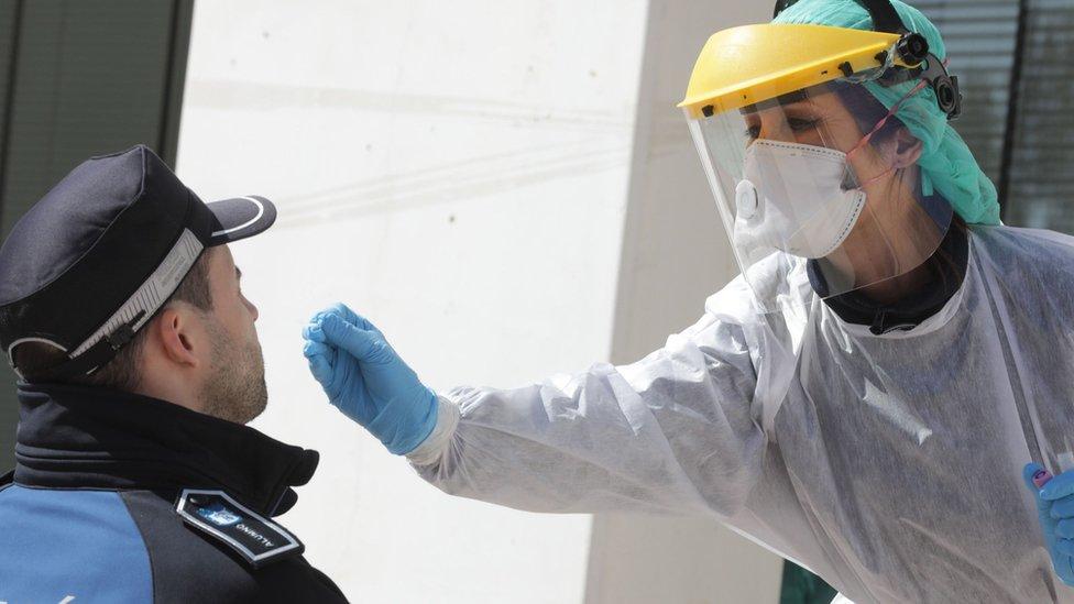 歐洲多國對防疫物資的需求大增。