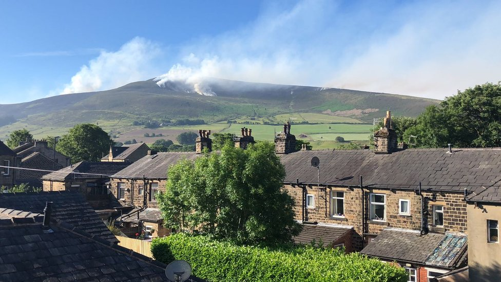 Saddleworth Moor fire