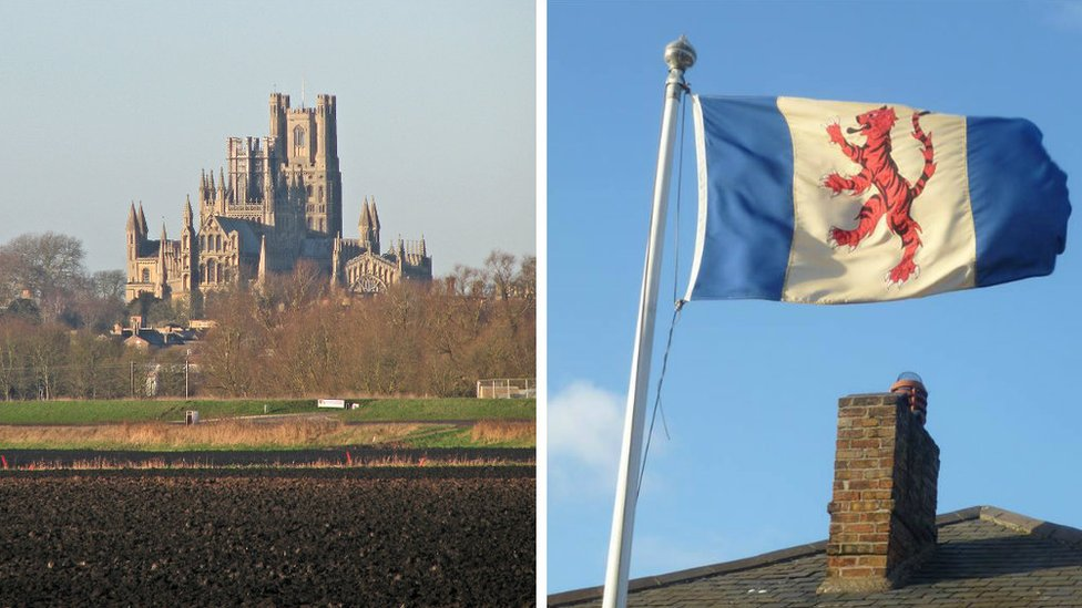 Fens flag campaign to capture 'fighting qualities'
